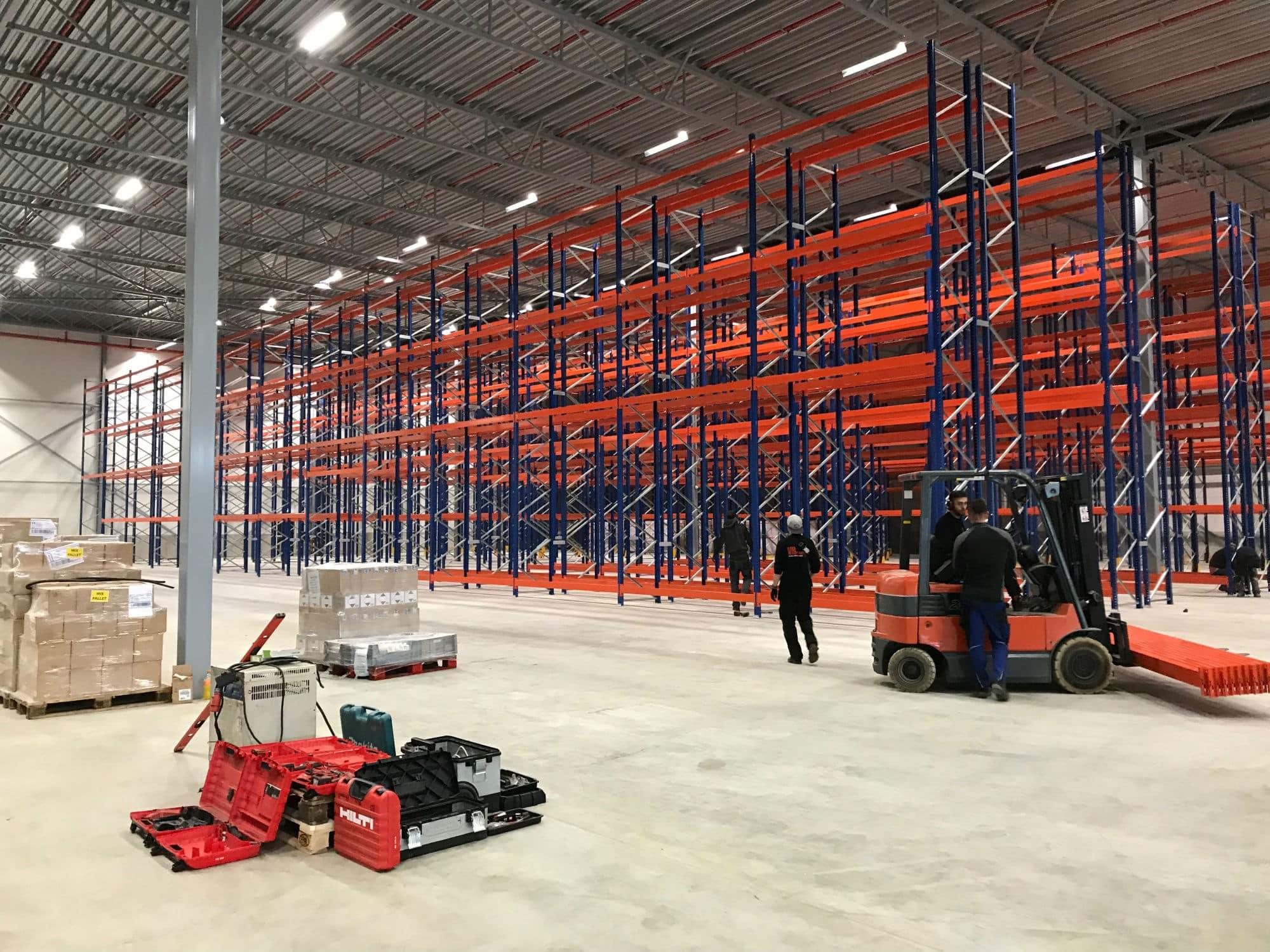 Palletstellingen voor warehouse in Vianen