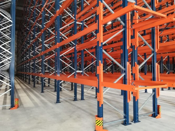 BREEAM Outstanding warehouse ingericht door Mecalux met Holland Storage Services