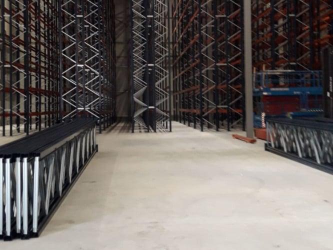 BREEAM Outstanding warehouse ingericht door Mecalux met Holland Storage Services